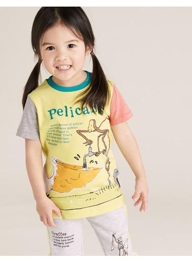 Marks & Spencer Pelikans Baskılı T-Shirt Sarı
